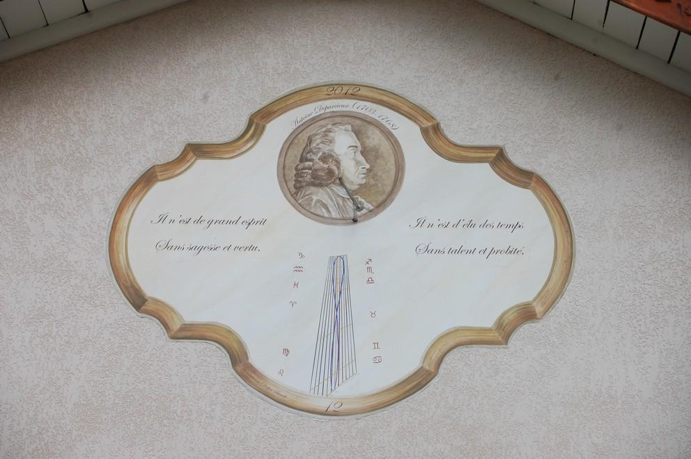 Cadran solaire création Benoit Carmaux Tarn.