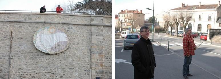 cadran solaire création Benoit Villefranche-de-Rouergue Aveyron.