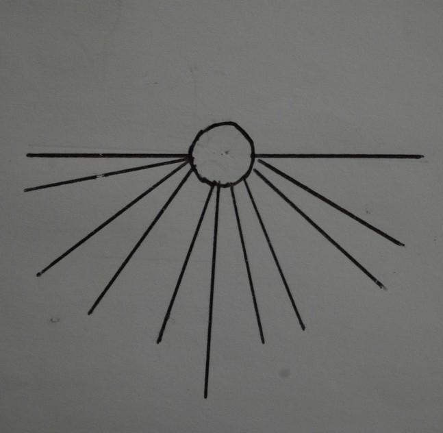 Cadran solaire Benoit Castelnau-de-Levis Tarn.