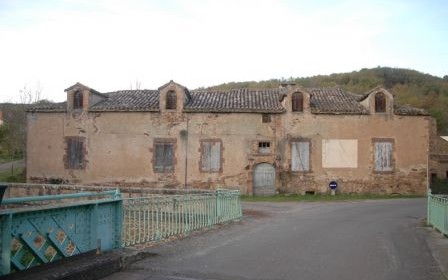 Cadran solaire restauration Benoit  Salles-sur-Cérou Tarn.