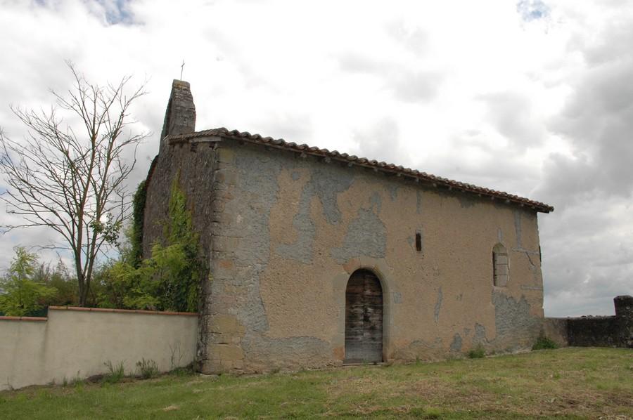 Cadran solaire Benoit Sieurac chapelle de Vitrac Tarn.