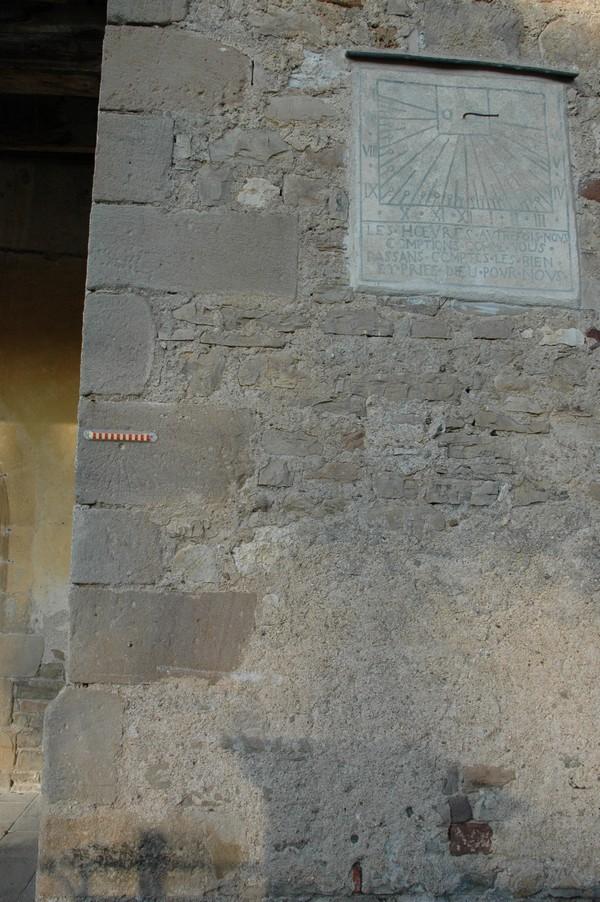 Cadran solaire Benoit Vindrac Tarn.