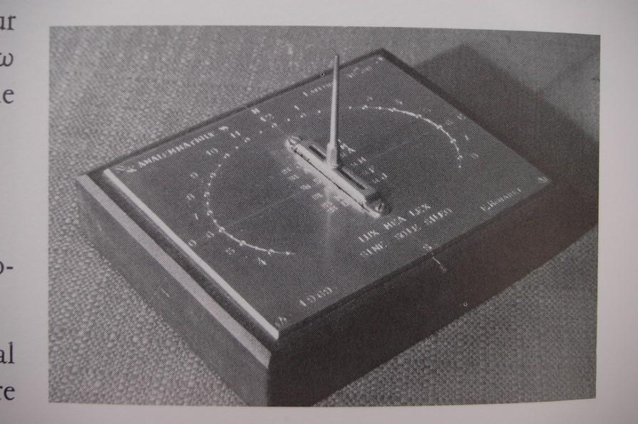 Cadran solaire Benoit Mazamet Tarn.