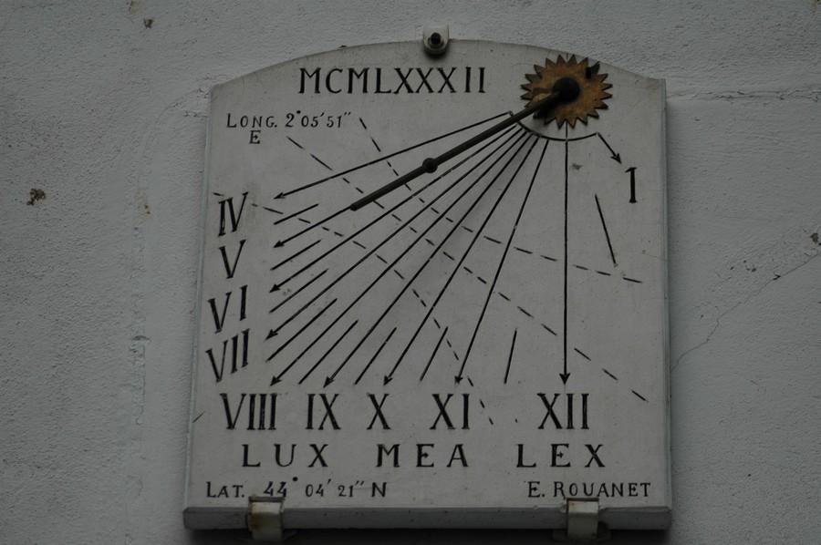 Cadran solaire Benoit Monesties Tarn.