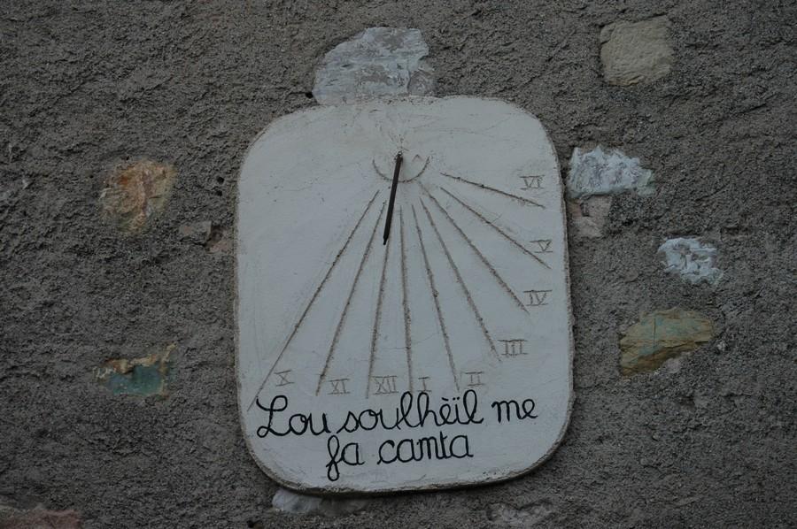 Cadran solaire Benoit Puycelsi.