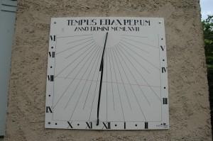 Cadran solaire Benoit Réalmont Tarn.