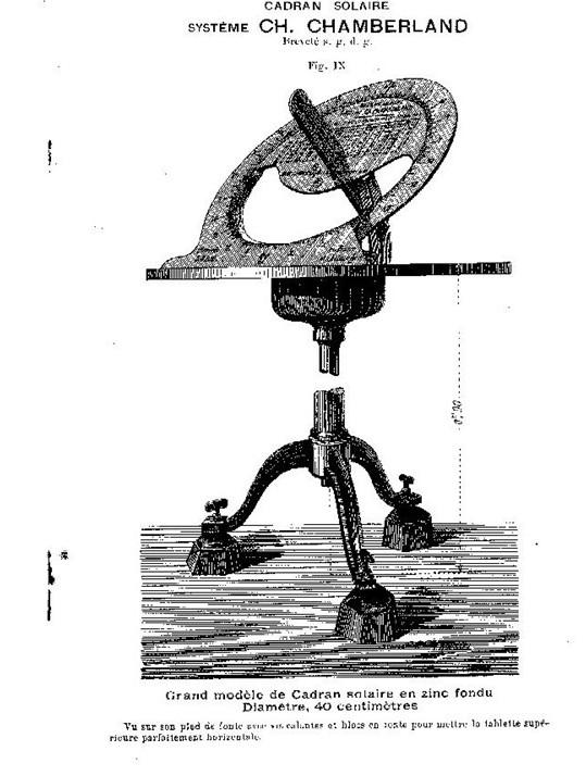 Cadran solaire Benoit Combefa Tarn.