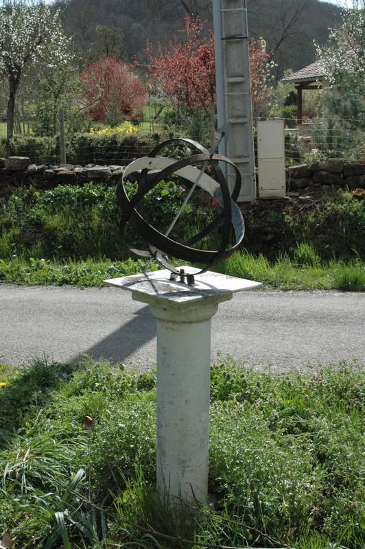 Cadran solaire Benoit Salles-sur-Cérou.