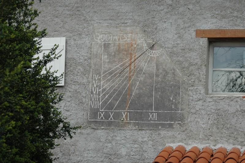 Cadran solaire Benoit Senouillac Tarn.