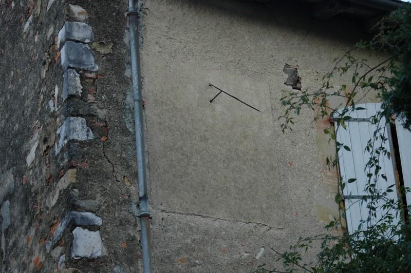 Cadran solaire Benoit Sorèze Tarn.