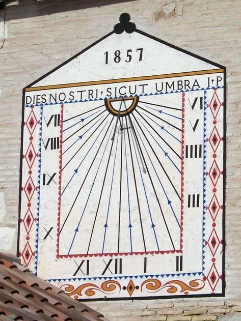 Cadran solaire Benoit Vieux Tarn.