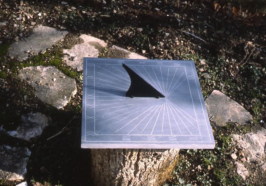 Cadran solaire Benoit Dourgne Tarn.