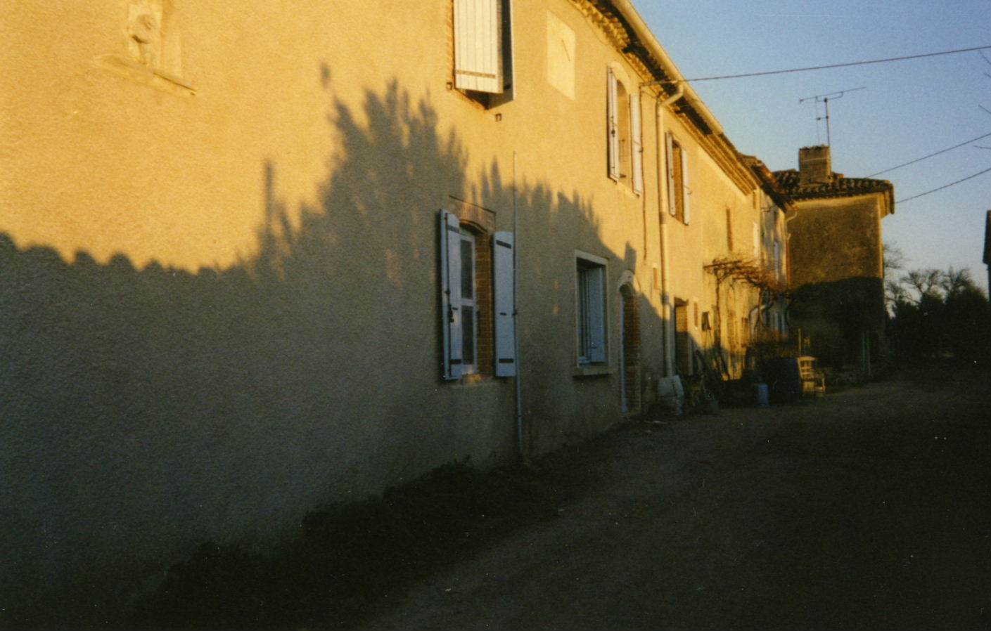 Cadran solaire Benoit Jonquières Tarn.