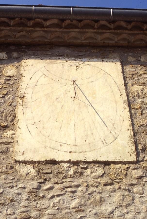 Cadran solaire Benoit l'Albarede Tarn.