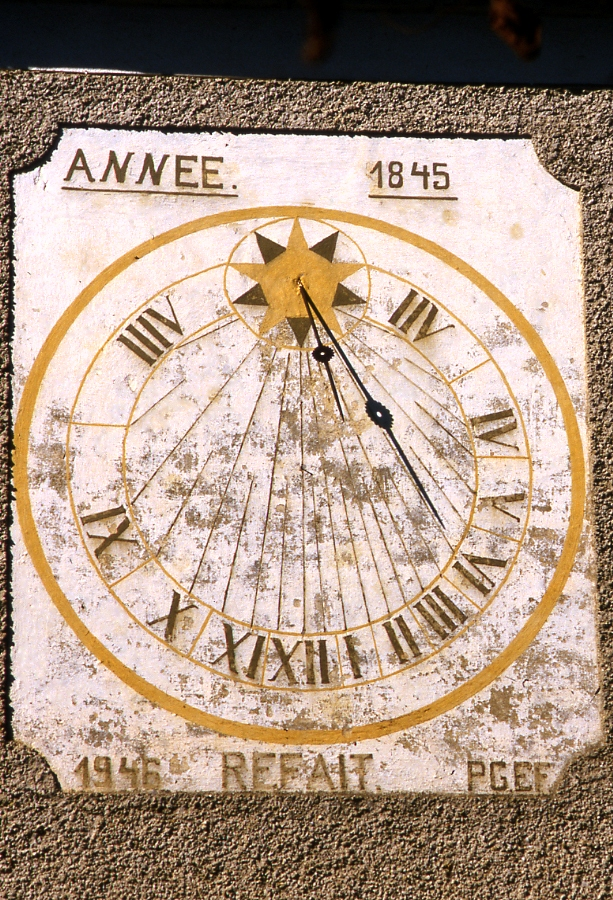 Cadran solaire Benoit Lescout Tarn.