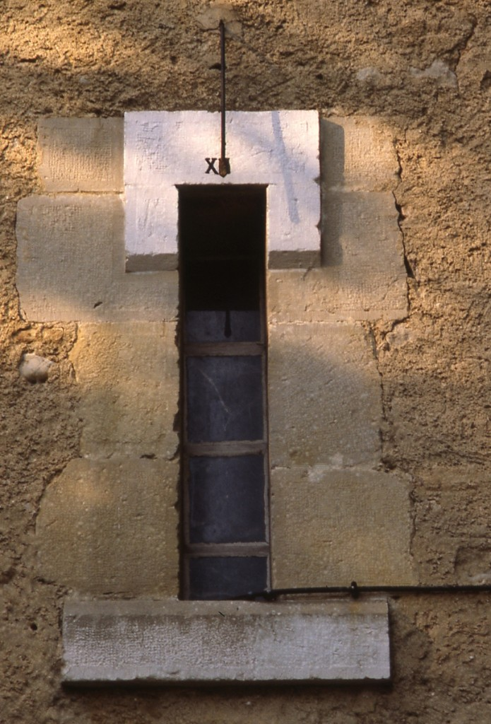 Cadran solaire Benoit Servies Tarn.
