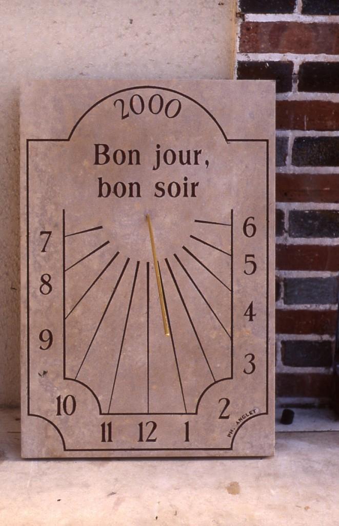 Cadran solaire Benoit Soual Tarn.