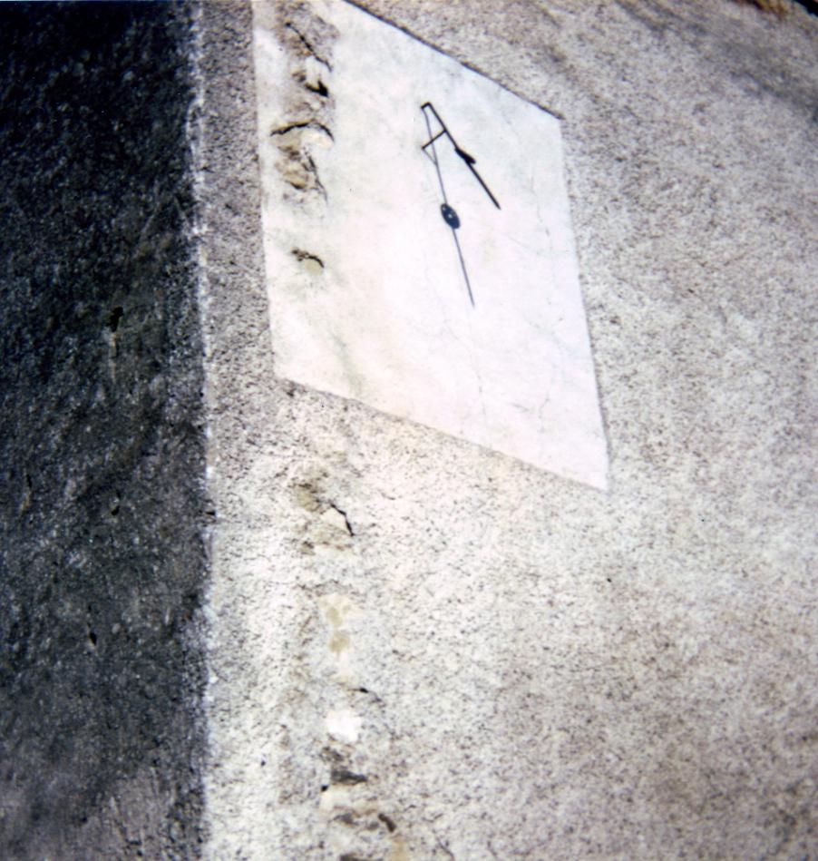 Cadran solaire Benoit Verdalle Tarn.